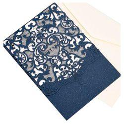 50 tarjetas de cumpleaños invitación con papel imprimible en blanco y sobres para entregar