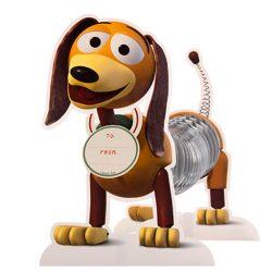 Tarjeta de cumpleaños especial felicitación en 3D, diseño de Toy Story incluye sobre