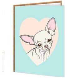 Tarjeta de cumpleaños especial perfecta para los amantes de la 'Chihuahua' tamaño A6