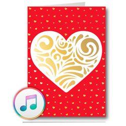 Tarjeta de cumpleaños y felicitación musical conexión USB, para grabar música o mensaje de voz