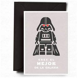 Tarjetas de cumpleaños para hombre Postal Star Wars Guerra de las Galaxias
