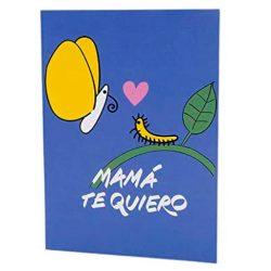 Tarjetas de cumpleaños para mama postal de Mamá, Te quiero de felicidades